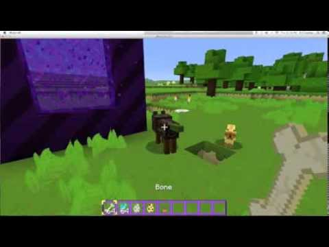 How to tame a wolf and ocelot in minecraft