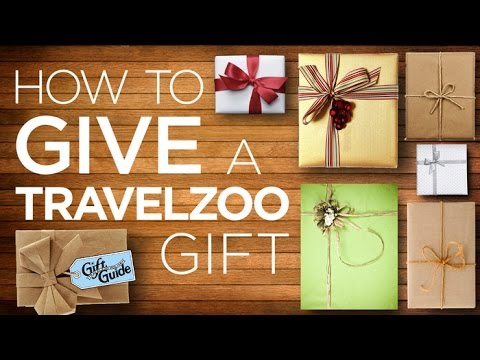 How to Give a Travelzoo Gift