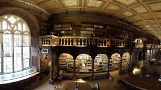 Take a 360° tour of the Bodleian, Hogwarts' library in the Harry Potter films