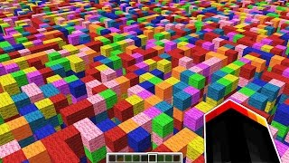 THE INFINITE MINECRAFT MAZE!