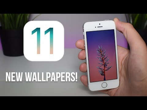 Apple Just Leaked NEW WALLPAPERS Inside iOS 11!