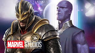 Eternals Trailer - Thanos Explained and New Marvel Phase 4 Cameo Scenes