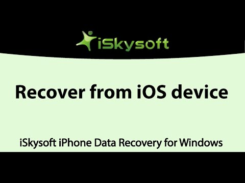 How to Recover Lost or Deleted Data from Your iPhone/iPad/iPod touch (iOS 9 Compatible)
