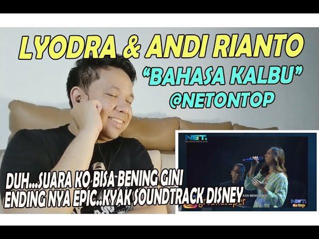 Download Lyodra Ft  Andi Rianto ❗  BAHASA KALBU ❗ REACTION! ❗ BENING BANGET ITU SUARA! MP3 Gratis