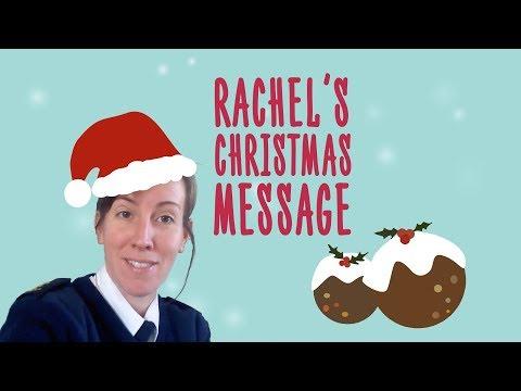 Rachel's Christmas Message 2017