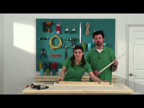 Build a Shelf with Prefinished Moulding