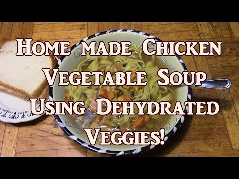 Using Dehydrated Veggies & Seasonings In Soup Because You Asked For It