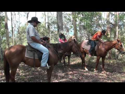 Trail Ride with Cbg kids