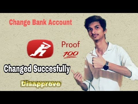 How To Change Bank Account in Dream 11 || Remove bank account in dream 11 || Dream11 Remove Bank A/c