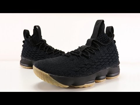 NIKE LEBRON 15 BLACK GUM REVIEW + ON FEET