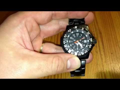 How to set time and date of KHS mechanic wristwatch