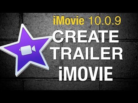 Create a Trailer in iMovie 10 - 2016