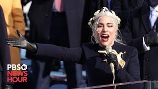 WATCH: Lady Gaga sings 'The Star Spangled Banner' at Biden inauguration