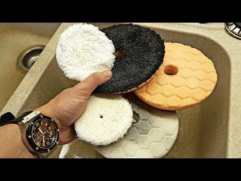 HOW TO CLEAN  polishing pads QUICK AND EASY!!!