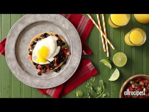 How to Make Black Bean Huevos Rancheros | Comfort Food Recipes | Allrecipes.com