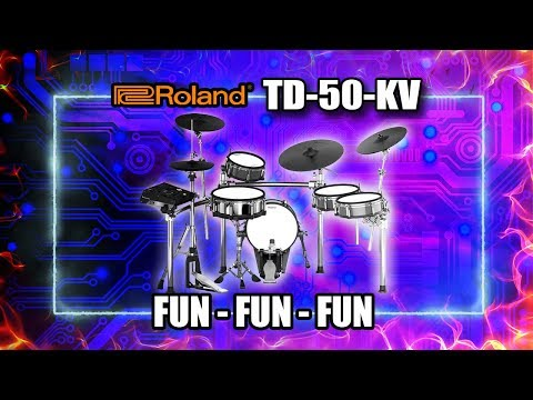Roland TD50KV (SO much fun!)
