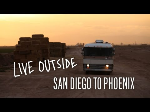 Live Outside: Day 4 - Exploring San Diego to Phoenix