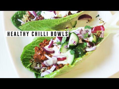 Fun Healthy Chilli Bowls