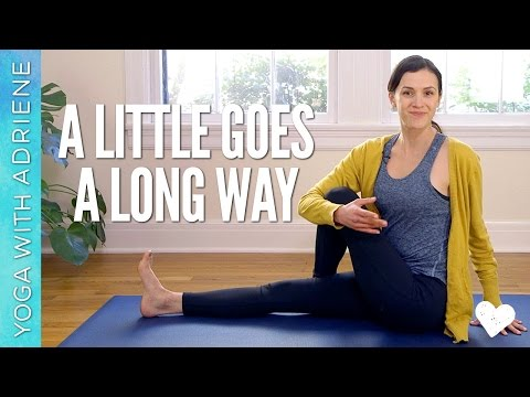 Yoga For Beginners - A Little Goes a Long Way