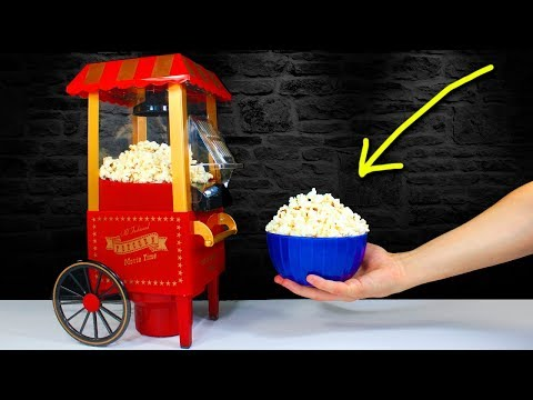 The MINI POPCORN MACHINE | Smallest Popcorn Maker in the World