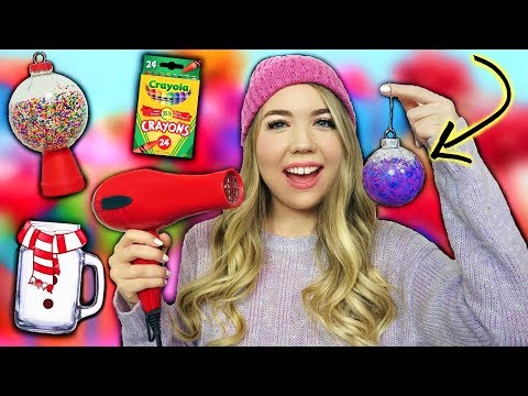 5 Minute Crafts You NEED to Try for CHRISTMAS! Quick & Easy Holiday DIYS!