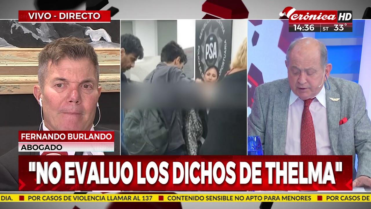 """Fernando Burlando: """"Ahora le creo a Darthés"""""""