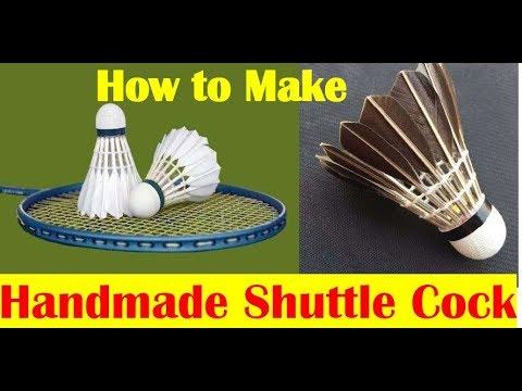 Homemade Badminton Shuttle Cock making Using Waste Plastic Bottle