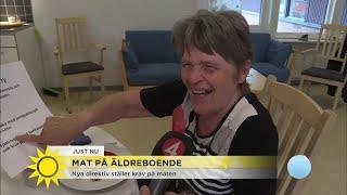 Nya direktiv ställer krav på maten för äldre - Nyhetsmorgon (TV4)