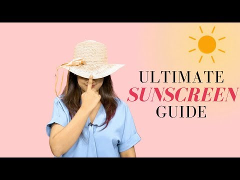 Myntra Summer Beauty Guide - Sunscreen 101!