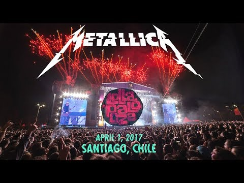 Metallica - Halo on Fire - Live at Lollapalooza Chile (2017) [Audio Upgrade]