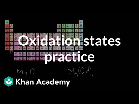 Practice determining oxidation states | Chemistry | Khan Academy