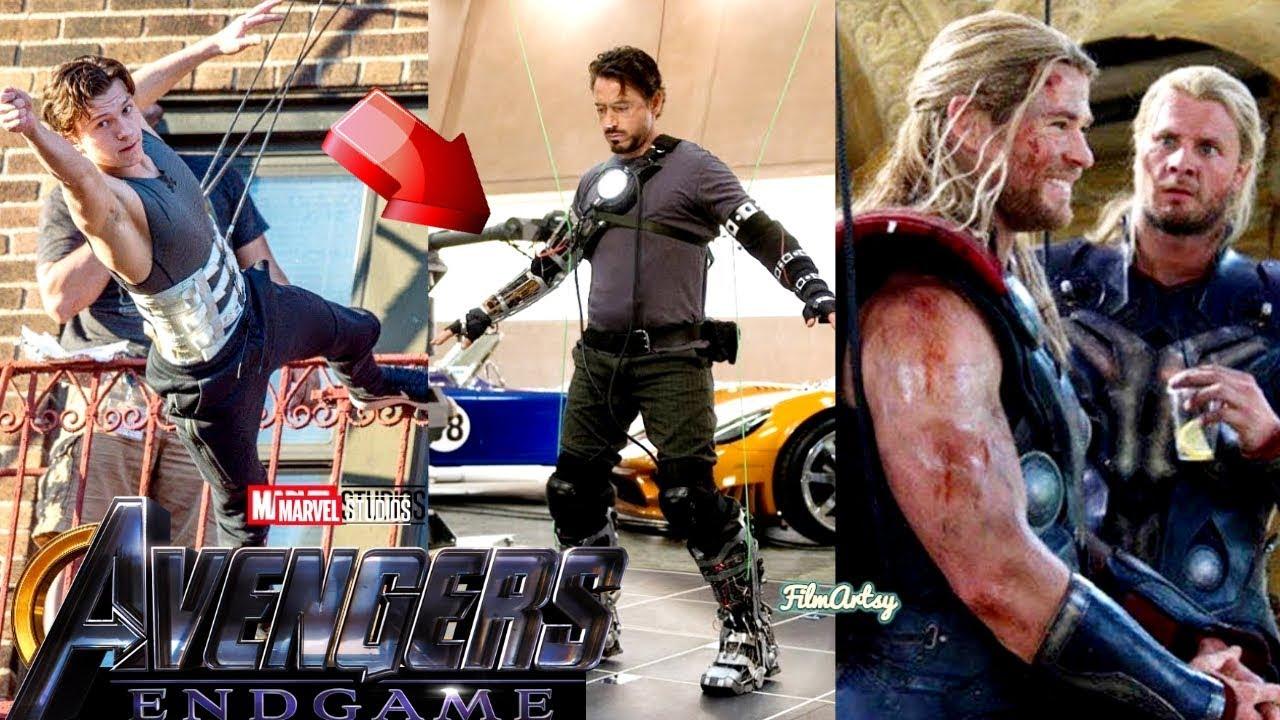 Avengers 4: Endgame Cast Stunt Performances With Out Stunt Doubles - 2018