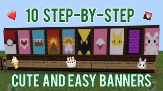 ✓ 5 AWESOME MINECRAFT BANNER DESIGNS WITH TUTORIAL! #19