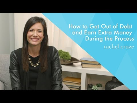 How to Get Out of Debt and Earn Extra Money During the Process