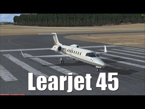 FSX Tutorial: Bombardier Learjet 45
