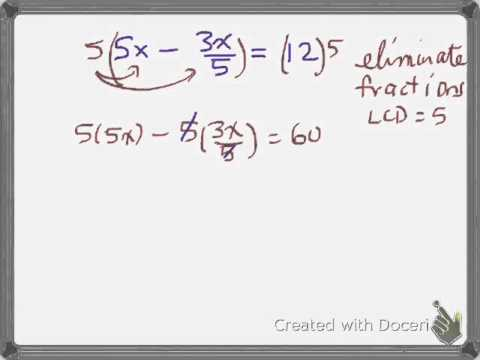 Vretta 3.1 1st degree equation D