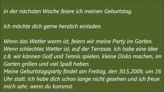 deutsche brief a1 a2 b1 prfung 43 - B1 Prufung Brief Schreiben Beispiel