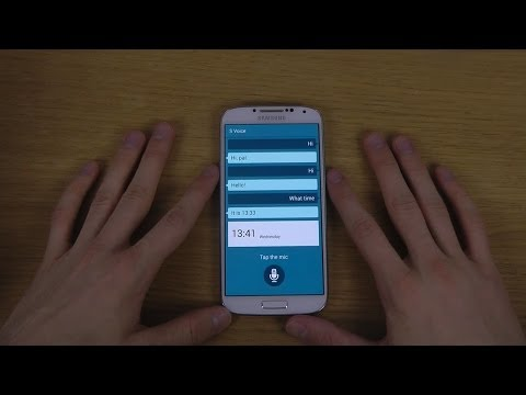 NEW Samsung Galaxy S5 S Voice App - First Look!