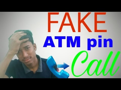 Fraud or fake call for ATM pin , 16 digit, cvv and otp don't accept call