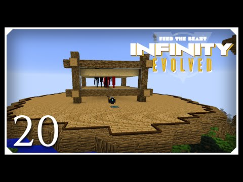 Minecraft Hypermine FTB: Infinity Evolved | Draconic Spawner Enderman Farm | E20