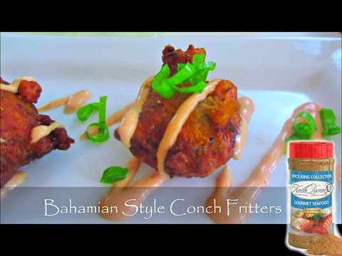 Best Conch Fritters & Sauce by Keith Lorren