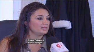 """زن تونسی که مورد تجاوز دو پلیس قرار گرفت، متهم به """"بی..."""