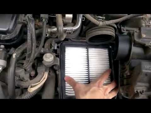 How to replace the Air Filter of Honda City 2009 - 2013