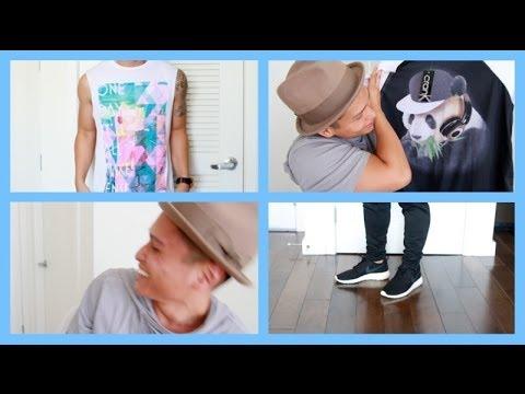 Men's Fashion Haul with a Surprise Guest!!!