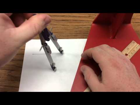 Finding The Midpoint Of A Line Segment And Perpendicular Lines