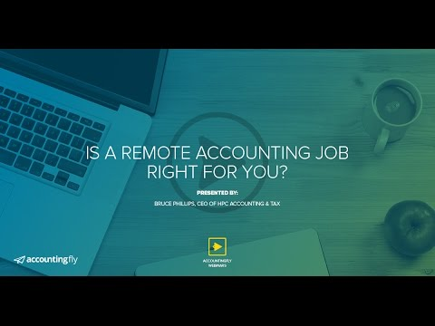 Is a Remote Accounting Job Right for You?