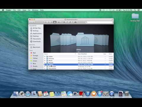 How to get to the Hidden Library folder on Mac 10.7 and later