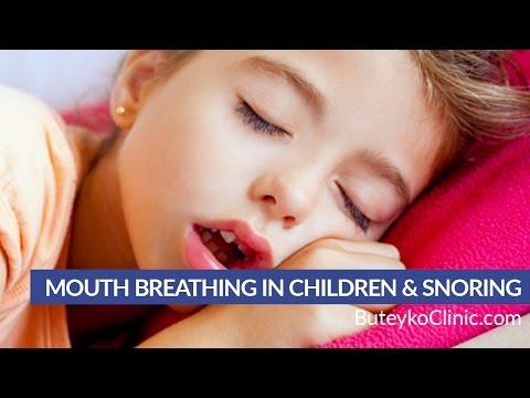 Mouth Breathing in Children & Snoring, Sleep Apnea - Sleep Disordered Breathing
