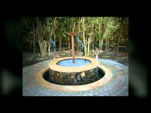 Gas Fire Pit and Water Fountain - Port Orange, Florida