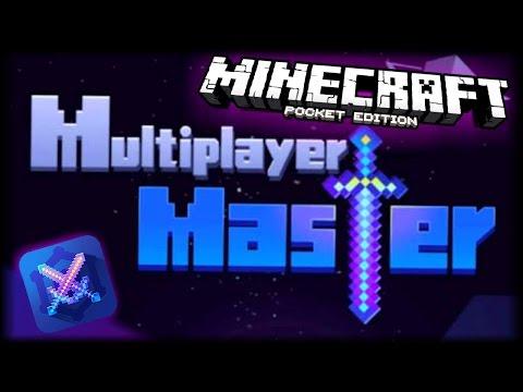 Como Crear o Hacer Un Servidor en Minecraft PE 1.0 - Multiplayer Master for MCPE - Android
